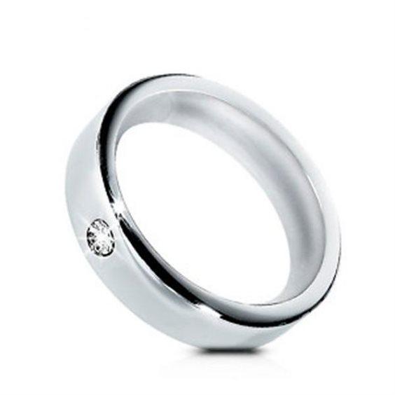 FEDE ANELLO MORELLATO Love Rings SNA45 FEDINA ACCIAIO Zircone FEDI UNISEX